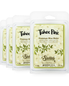 Tahoe Pine Wax Melts 4 Pack - New Wax Blend