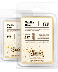 Vanilla Bean Wax Melts 2 Pack - Formula 117