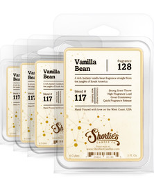Vanilla Bean Wax Melts 4 Pack - Formula 117