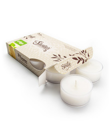 White Chocolate Mint Tealight Candles 6-Pack