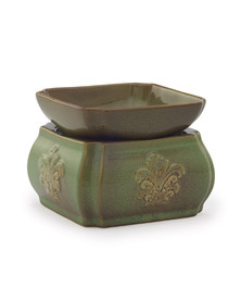 Spring Damask Candle Warmer