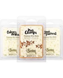 Earth Wax Melts Variety Pack - New Wax Blend