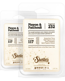 Pinyon & Patchouli Wax Melts 2 Pack - Formula 117