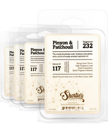 Pinyon & Patchouli Wax Melts 4 Pack - Formula 117