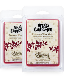 Apples & Cinnamon Wax Melts 2 Pack - New Wax Blend