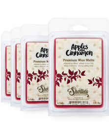 Apples & Cinnamon Wax Melts 4 Pack - New Wax Blend