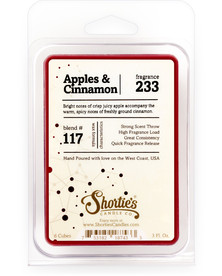 Apples & Cinnamon Wax Melts  - Formula 117