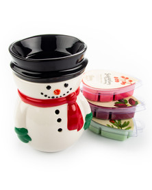 Frosty Electric Candle Warmer Gift Set