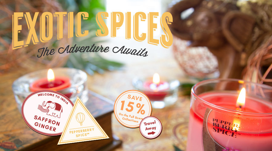 Exotic Spices: 15% Off Saffron Ginger & Pepperberry Spice™