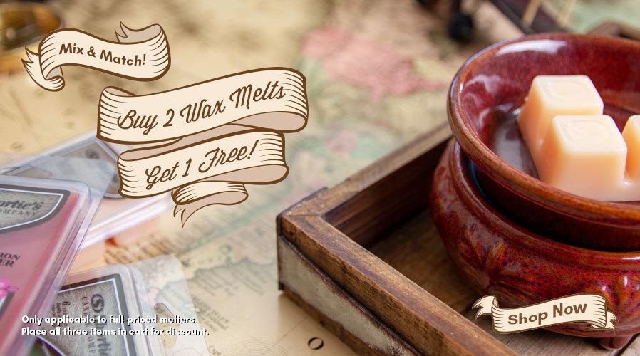 Buy 2 Get 1 FREE: Wax Melts