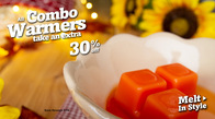 30% off all Combo Warmers