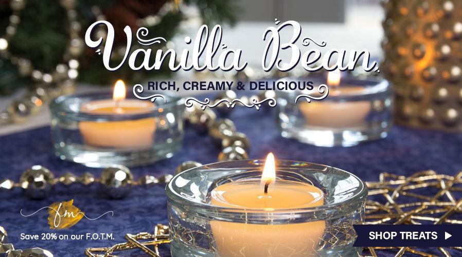 FOTM: 20% off Vanilla Bean