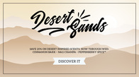 20% off Desert Scents