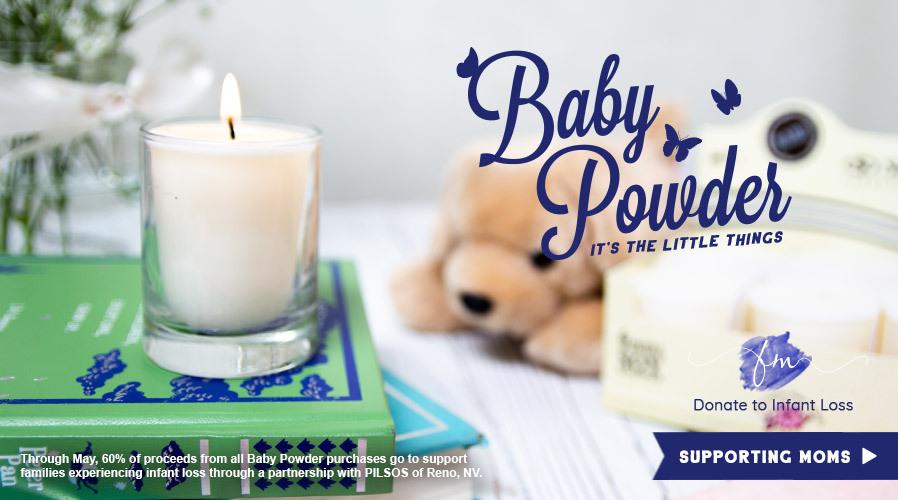 FOTM: Baby Powder 60% of Proceeds Donated to PILSOS