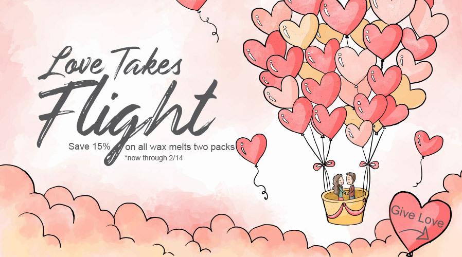 Love take flight