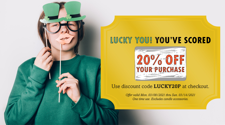 Try Your Luck! 20% Off